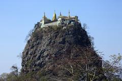 Mount Popa - Myanmar (Burma) Stock Photos