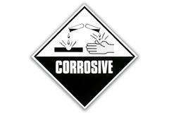 Hazard Warning Sign - Corrosive Piirros