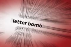 Letter Bomb Stock Photos