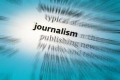 Journalism - stock photo