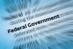 Federal Government - stock photo