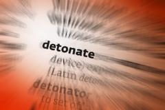 Detonate Stock Photos