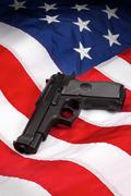 American Gun Laws Stock Photos