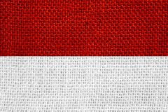 Flag of Indonesia Stock Illustration