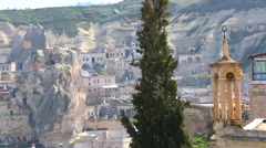 Cappadocia. Turkey village - stock footage