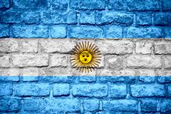 Flag of Argentina Stock Illustration