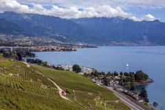 Lake Geneva - Switzerland Kuvituskuvat