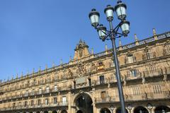 Plaza Major - Salamanca - Spain - stock photo