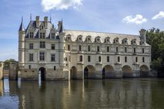 Chateau de Chenonceau - Loire Valley - France. Stock Photos