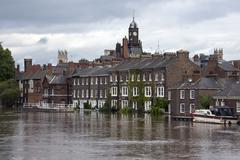 York Floods - Sept.2012 - UK - stock photo
