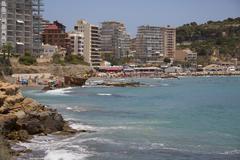Calp Resort - Alicante Province - Spain Stock Photos