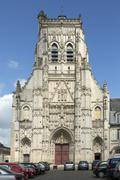 Abbey of St Riquier - The Somme - France Stock Photos
