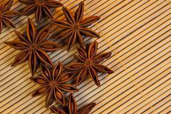 Spices - Star Anise Stock Photos