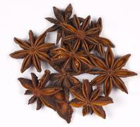 Star Anise - Flavoring - Spices - stock photo