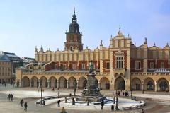 Krakow - Cloth Hall - Main Square - Poland Stock Photos