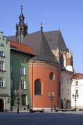 Rynek Square - Krakow - Poland - stock photo