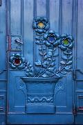 Krakow - Poland - Old Door - stock photo