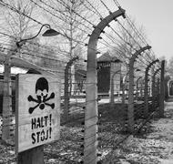 Auschwitz Concentration Camp - Poland Stock Photos