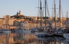Port of Marseille - French Riviera Stock Photos
