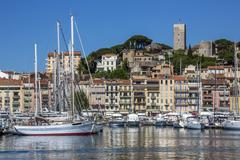 Cannes Old Town - South of France - stock photo
