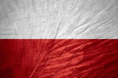 flag of Poland - stock illustration