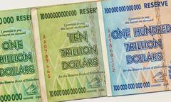 Banknotes of Zimbabwe - stock photo