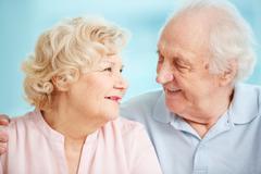 Happy senior life - stock photo