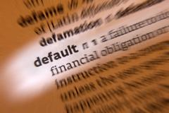 Default - Dictionary Definition - stock photo