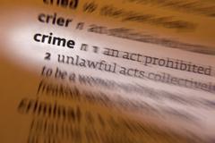 Crime - Dictionary Definition Kuvituskuvat
