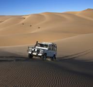 Adventure Tourism - Namib-nuakluft Desert - Namibia - stock photo