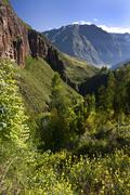 Sacred Valley of the Incas - Peru - stock photo