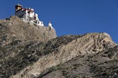 Yambulagang Monastery in Tibet - China Stock Photos
