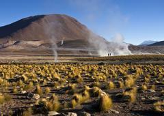 El Tatio Geysers - Atacama Desert - Chile Stock Photos