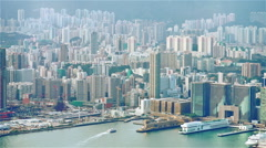 Hong Kong kowloon Stock Footage