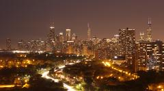 Chicago Skyline Kuvituskuvat