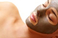 Clearing face - stock photo