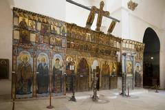 Monastery of St Barnabas - The Turkish Republic of Northern Cyprus Stock Photos