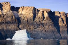 Franz Joseph Fjord - Greenland - stock photo