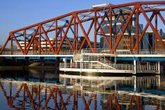 Salford Quays - United Kingdom - stock photo