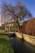 Village of Hovingham - Yorkshire - Great Britain Stock Photos
