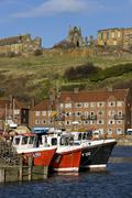 Whitby - North Yorkshire - United Kingdom - stock photo
