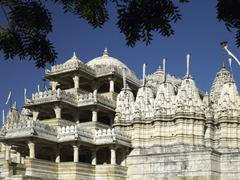 Adinath Jian Temple - Ranakpur - India - stock photo
