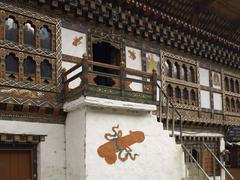Stock Photo of Fertility symbols - Kingdom of Bhutan