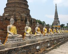Ayutthaya near Bangkok - Thailand - stock photo