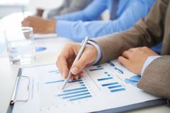 Market analysis Stock Photos