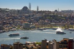 Suleymaniye Mosque - Istanbul - Turkey - stock photo