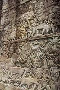 Bayon Temple - Angkor Wat - Cambodia - stock photo