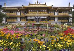 Summer Palace - Lhasa - Tibet - stock photo
