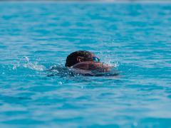 Swimmer in water Kuvituskuvat