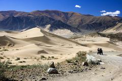 Tibetan Plateau - Tibet Autonomous Region of China Stock Photos